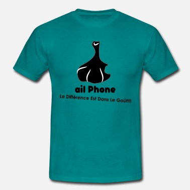 Humour Phrase Culte ail_phone - T-shirt Homme