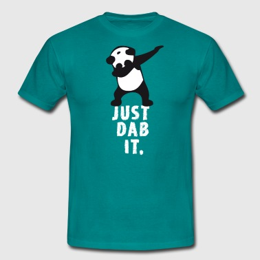 dab juste tamponner panda tamponnant touché superbowl - T-shirt Homme