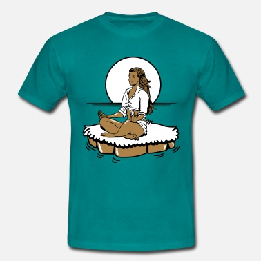 Relaxation relaxation île de yoga - T-shirt Homme