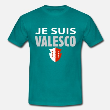 Je suis Valesco - Valaisan - T-shirt Homme
