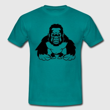 Gorilla agro monkey cool - Men's T-Shirt
