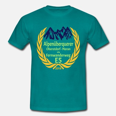 Gold Flex Alpine Crossing E5 2018 - Men's T-Shirt
