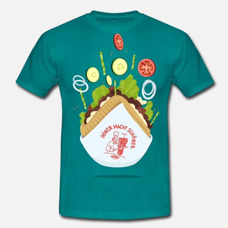 Collections T-shirt - Doner makes beautiful - Herre T-shirt divablå