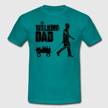 Vatertag The Walking Dad  - Männer T-Shirt