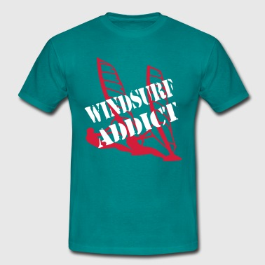 WINDSURF ADDICT - T-shirt Homme
