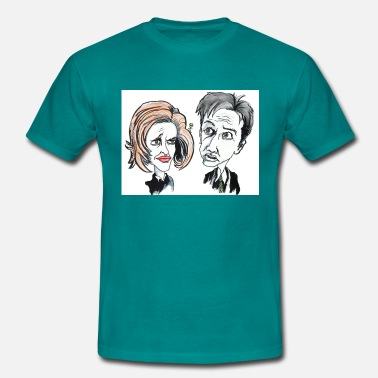Scully Mulder and Scully - Men's T-Shirt