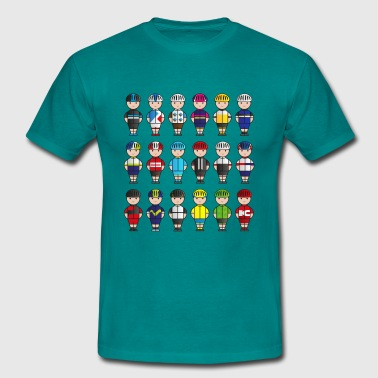 Mini-Team-Racers - Men's T-Shirt