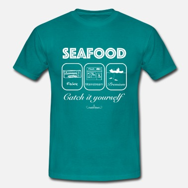 Fettes Brot Seafood_Premium_Mainstream_Fake-Catch it yourself - Männer T-Shirt