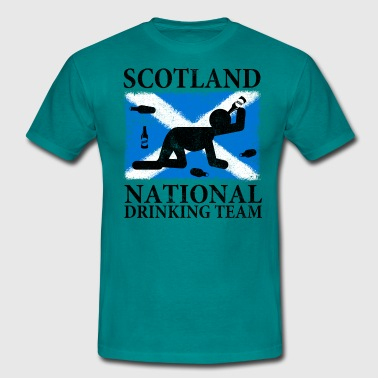 SCOTLAND NATIONAL DRINKING TEAM - Men's T-Shirt