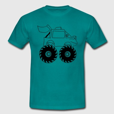 monstertruck - T-shirt herr
