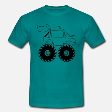 Monstertruck monstertruck - T-shirt herr