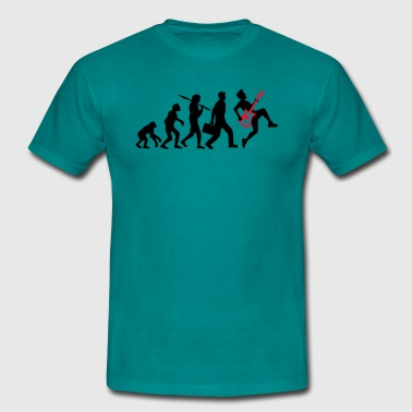 Evolution de la roche - Men's T-Shirt