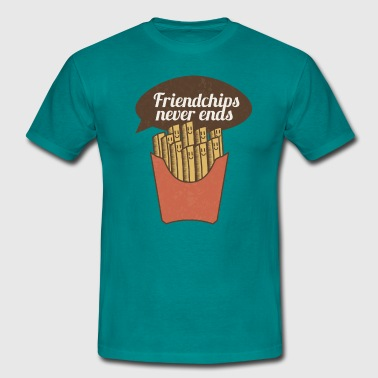 French Fries friendchips - Men's T-Shirt