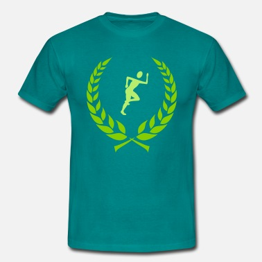 Laurel Wreath Jogger laurel wreath - Men's T-Shirt