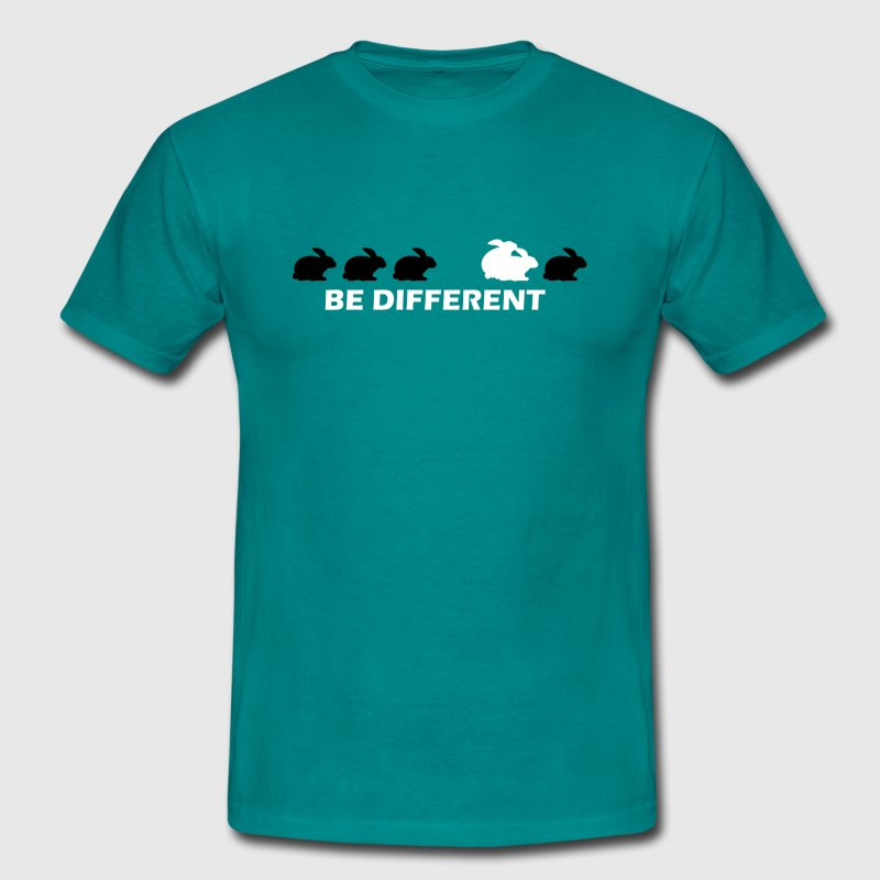 be different hase fun - Männer T-Shirt