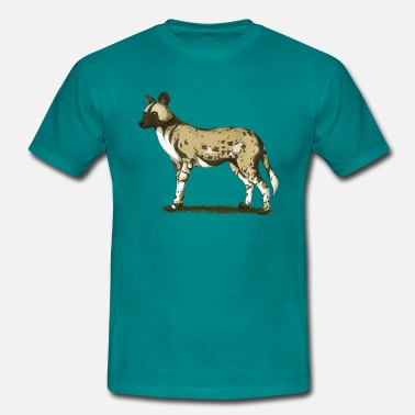 Wild Dog African wild dog - Men's T-Shirt