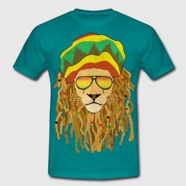 Marley Lion Dreadlocks - T-shirt Homme