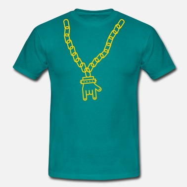 Rarity Necklace with pendant - Men's T-Shirt