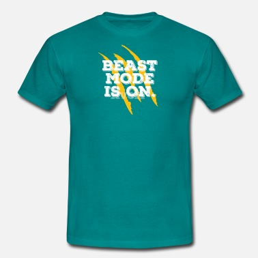 Beast Mode BEAST MODE IS ON - Camiseta hombre