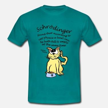 f1284d2cd Física Schrodinger  39 s Cat  39 s Bowl está lleno   vacío. Camiseta hombre