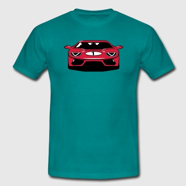 Race car sports car - Men's T-Shirt