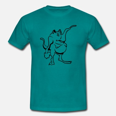 Slurf Monster grappige slurf - Mannen T-shirt