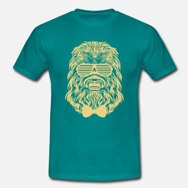 Jedi Chewbacca hipster - Men's T-Shirt
