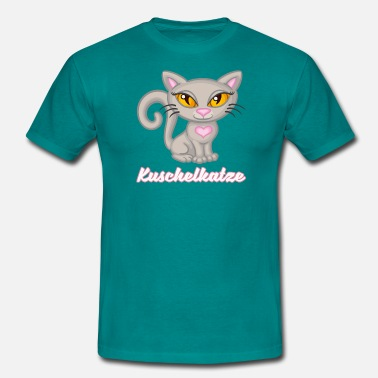 Cuddly Cute cuddly cat, cuddly cat, cuddly cat - Men's T-Shirt