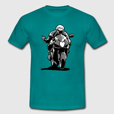 Motorbike Racing Race motorbike - Men's T-Shirt
