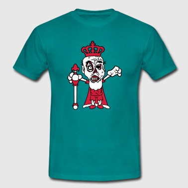 royal prince albert scepter crown nasty disgusting - Men's T-Shirt