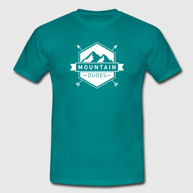 Mountain Dudes - Logo - Männer T-Shirt