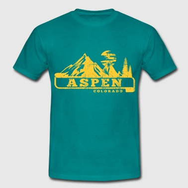 Aspen aspen colorado - Men's T-Shirt