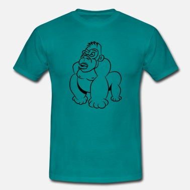 Wicked Cool Gorillas agro wicked cool - Men's T-Shirt