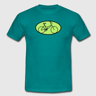 Bicycle symbol - Men's T-Shirt