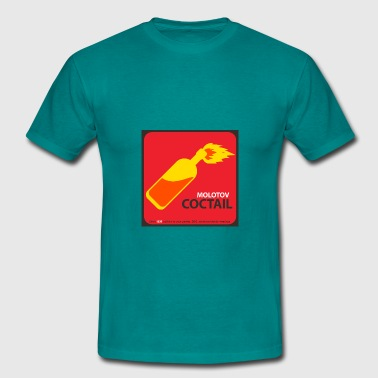 Red Molotov MOLOTOV COCKTAIL - Men's T-Shirt