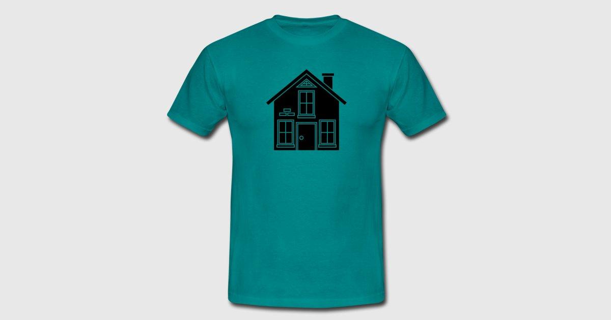 Mooi huisje huis te bouwen woningbezit van style o mat shirts