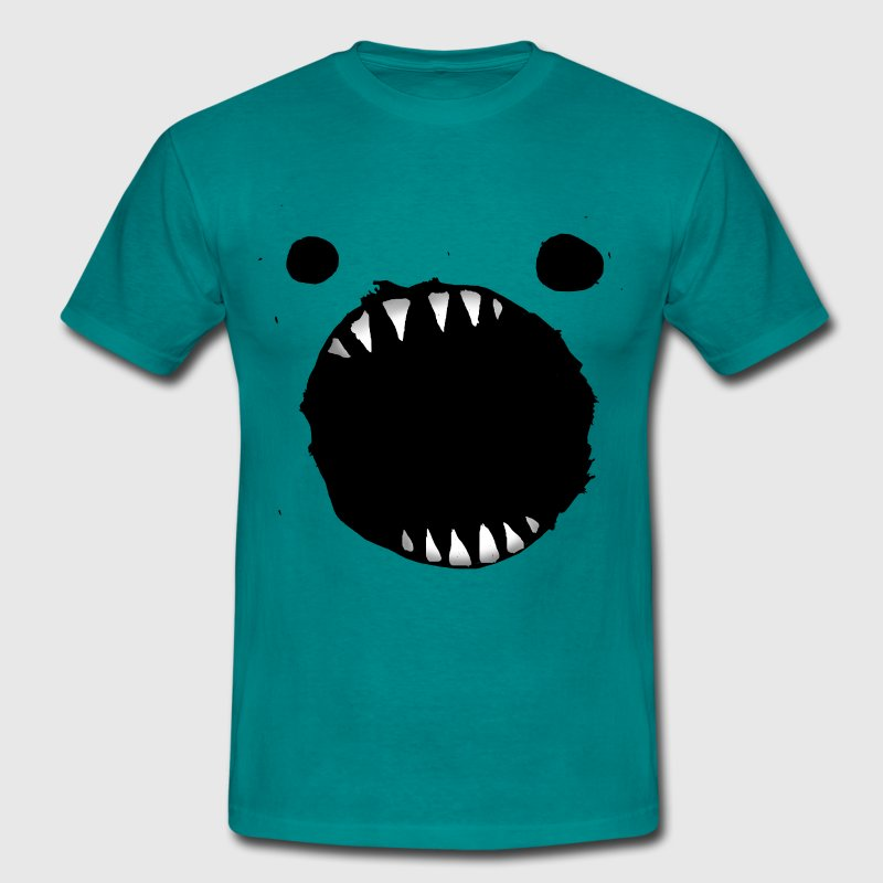 monster mouth cookies - Men's T-Shirt