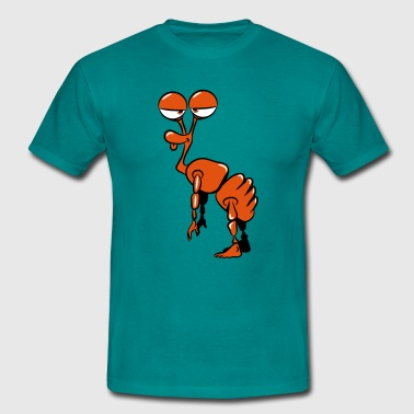 stupid funny Alien - T-shirt Homme