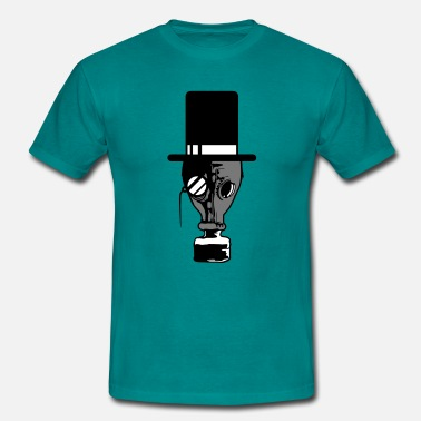 Heisenberg Sir verres cylindriques gentleman monocle concepti - T-shirt Homme