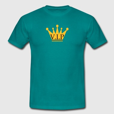 King Vip Krone king king friends team logo member stamp vip - Men's T-Shirt