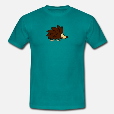 Joint Hedgehog weed cannabis eat delicious eat drug joint hedgeho - Men's T-Shirt