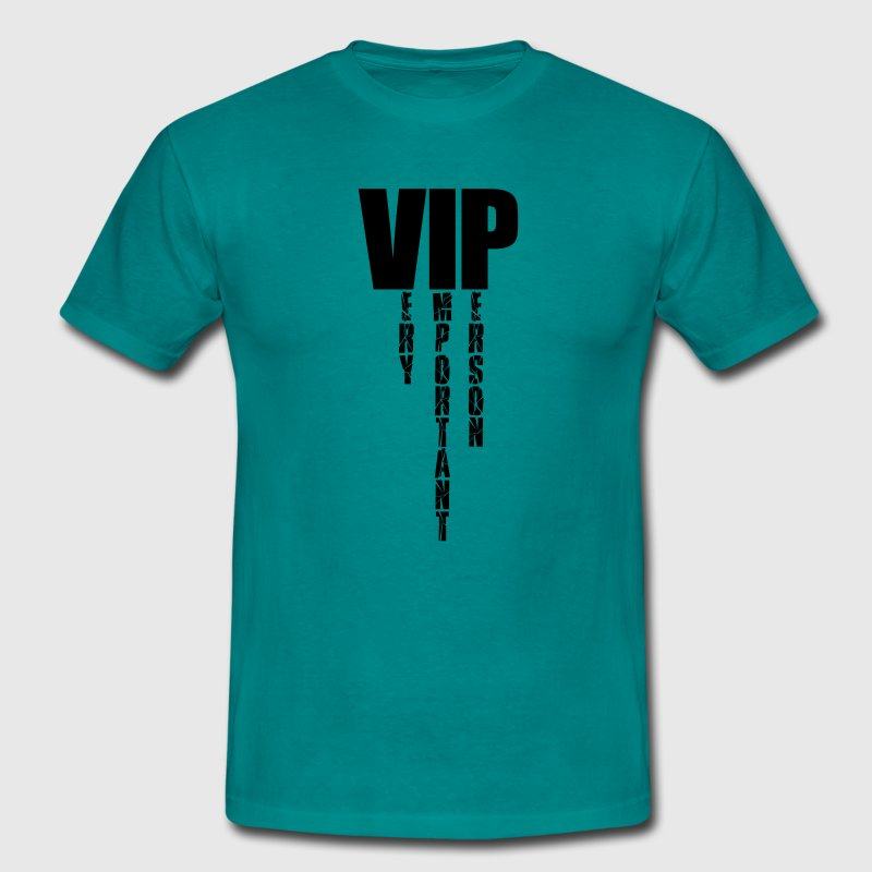 Very important person design cool logo sample text - Men's T-Shirt