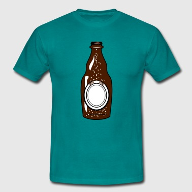Boozing Beer Beer Beer Bottle thirst booze - Men's T-Shirt