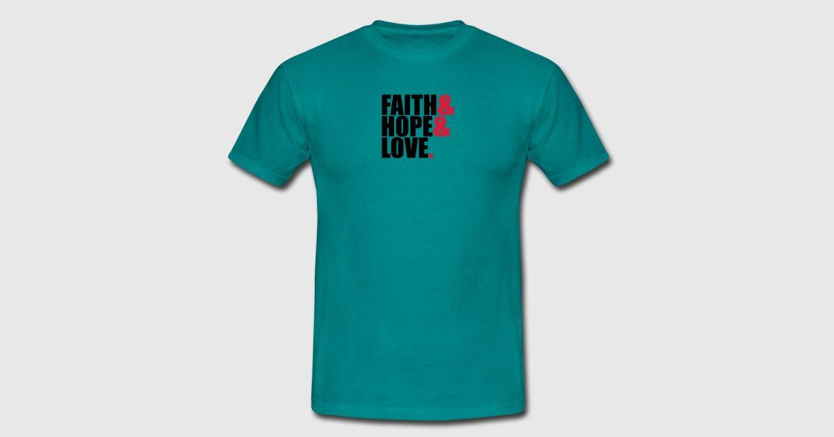 Faith Hope Love Love Hope Symbol Team Crew Friends By Style O Mat