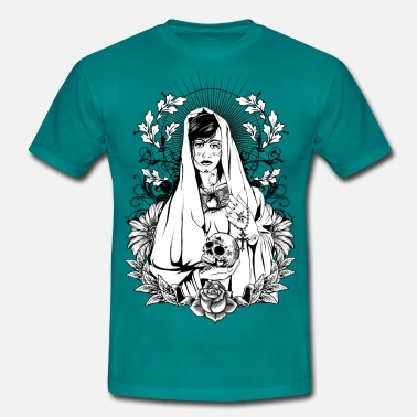 Tattoo Holy Maria - Männer T-Shirt