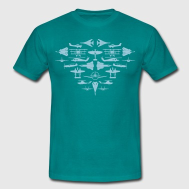 Aircraft aircraft aircraft - Men's T-Shirt