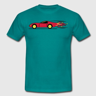 Race Car Racing race racing - Men's T-Shirt
