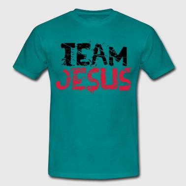 3 condemned teamcool design crucifixion crucifixio - Men's T-Shirt