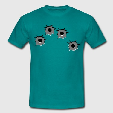 Holes weapons - Men's T-Shirt