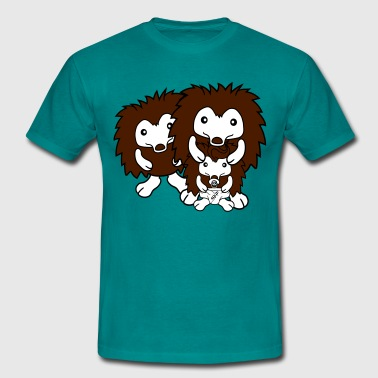 nappy pacifier sitting around child baby offspring - Men's T-Shirt